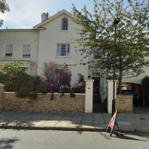 Sir George Frampton's house
