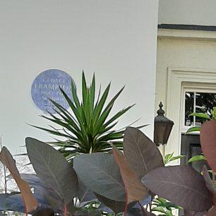 Sir George Frampton's plaque