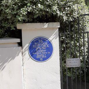 Sir William Reid Dick plaque