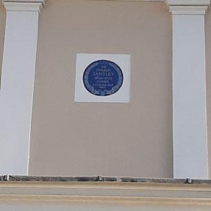 Sir Charles Santley plaque