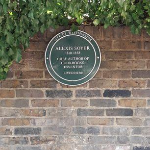 Alexie Soyer plaque