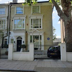 Sir Bernard Spilsbury's house