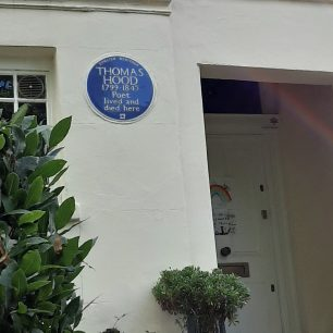 Thomas Hood plaque