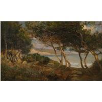 Coast near La Mortola - Herbert Olivier