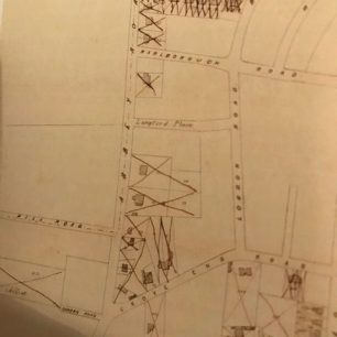 Abbey Road map at 1858 sale