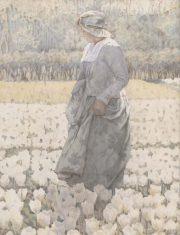 Tiptoe through the tulips by Alice Gardner King