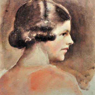 Helen Hatton by William Margetson