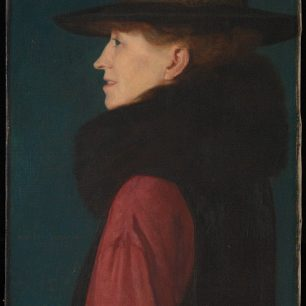 Portrait of Lady Frampton by her son Meredith