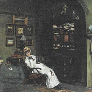Esther Waterhouse  by William Logsdail