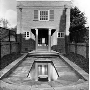 The Studio in Bolton House designed by Edward Maufe