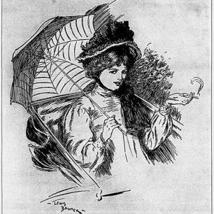 Illustration by Lewis Baumer