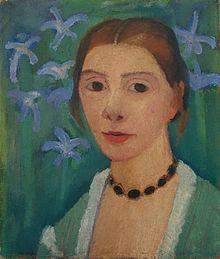 Portrait by Paula Modersohn-Becker