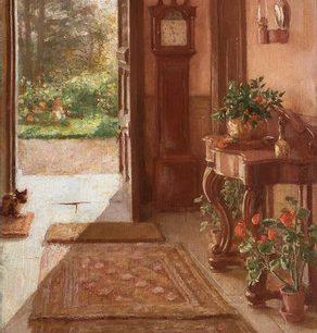 Interior by Ursula Wood