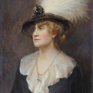 Lady Lever nee Beatrice Hilda Falk (1873 - 1917)    by Ethel Wright