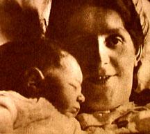Paula Becker and her baby