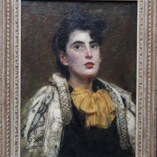 Edwardian Lady by Ursula Wood