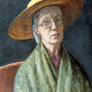 Self portrait by Vanessa Bell   www.artuk.org/artworks/self-portrait-73780