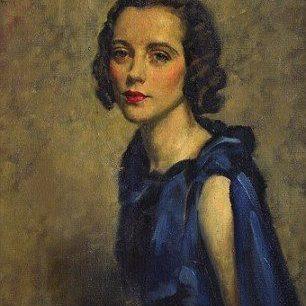 Lady Milbanke by Simon Elwes