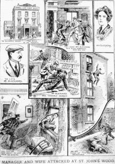 The Blenheim Hotel | Illustrated Police News, 17 March 1921.