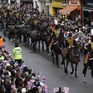 King's troop farewell