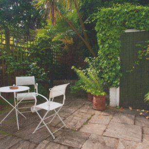 88 St John's Wood Terrace | Peter Marshall from Mireille Galinou's book Secret Gardens of St John's Wood
