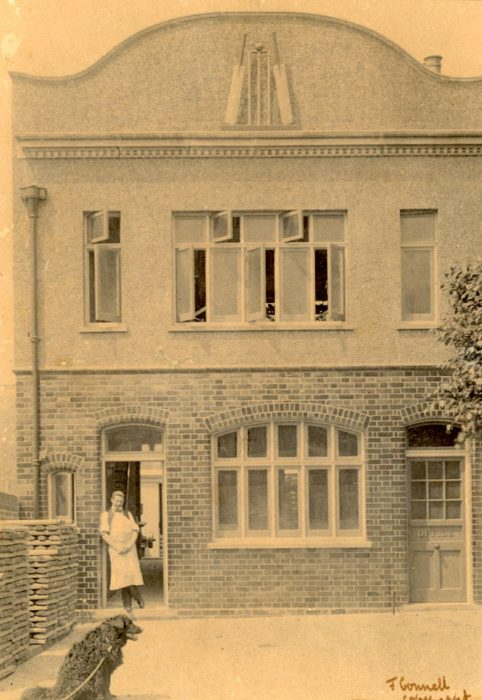 Exterior view of Benjamin Warsop and Sons Cricket bat factory, 127a Park Road, 1014 | Copyright Westminster City Archives