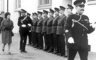 Visit of Queen Elizabeth II to St John's Wood Barracks