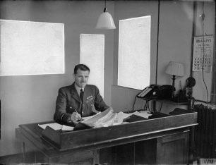 Air Vice Marshal G R M Reid at Lord's | IWM CH 7516