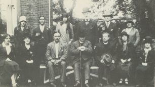 All Saints Parish group with George second from left in back row | Westminster Archives