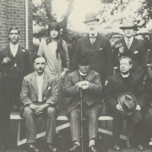 All Saints Parish group with George on the left in back row | Westminster Archives