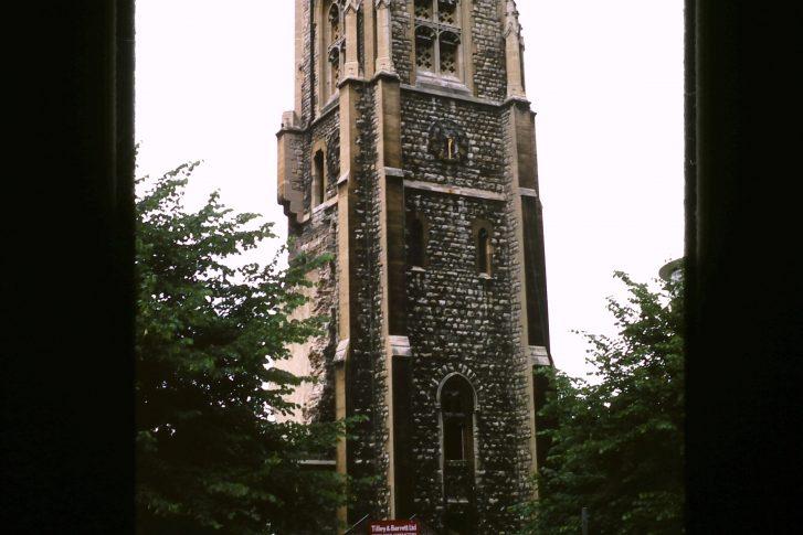 All Saints church (destroyed)