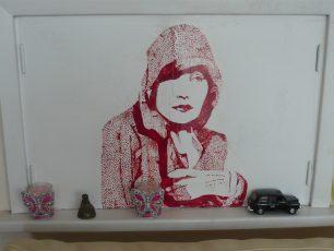 Greta Garbo by Stuart Goddard   Louise Brodie