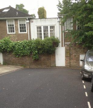 Boundary at Blenheim Terrace   Bridget Clarke