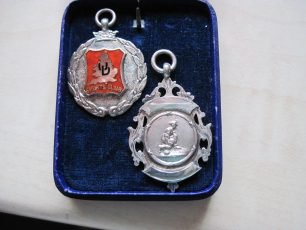 United Dairies staff competition Bowls medals 1930 and 1926 | Bridget Clarke