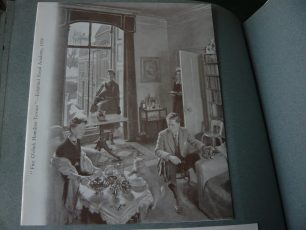 Father's picture of the drawing room in Hamilton Terrace | Louise Brodie