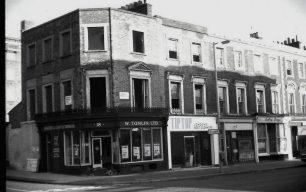 Shops in St John's Wood in the 1940s & 1950s