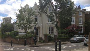 Gothic house on corner of Greville Road   Bridget Clarke