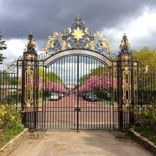 Goetze' Regent's Park Gates | by kind permission of Fran Pickering