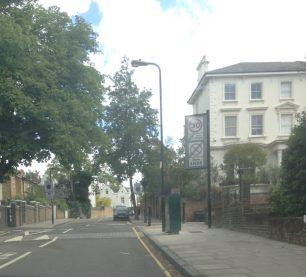 Greville Road looking back to St John's Wood   Bridget Clarke