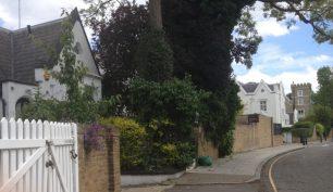 Greville Road looking back to Carlton Hill | Bridget Clarke