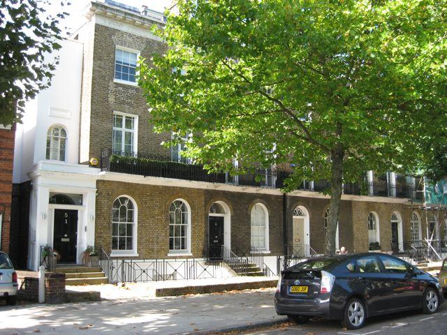 Hamilton Terrace - west side | Jeanne Strang