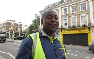 Street cleaners and waste disposal