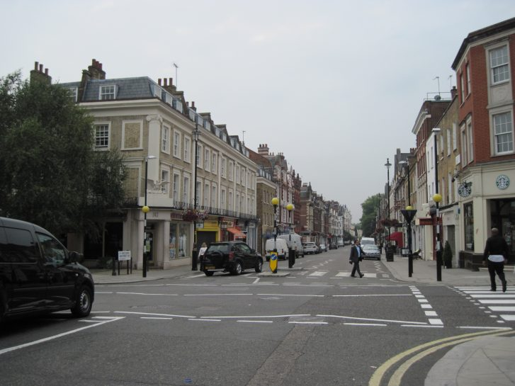 St John's Wood  High Street then and now
