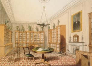 Charles Purton Cooper's library at 12 Grove End Road | Westminster  City Archives
