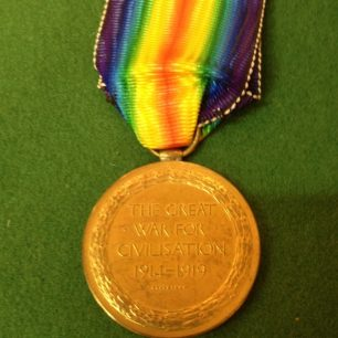 Victory Medal | The Mann family