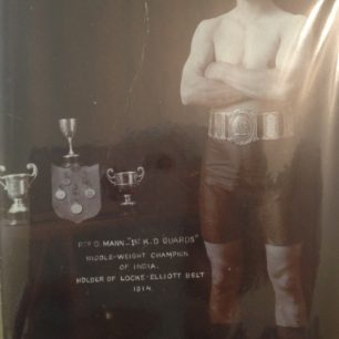 George Mann, middleweight champion in India | The Mann family
