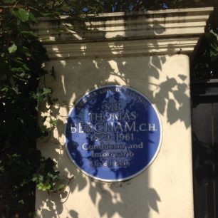 Beecham's Plaque   Bridget Clarke