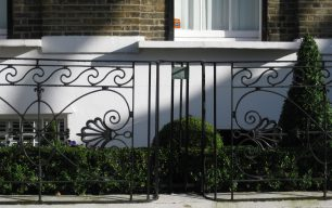 Railings at 24 Hamilton Terrace