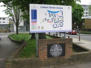 Lisson Green site | Jeanne Strang