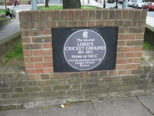 Plaque on Lisson Green Estate | Jeanne Strang